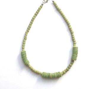 Collar nácar verde